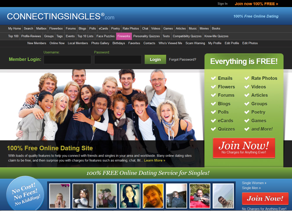Kostenlos auf dating-sites chatten